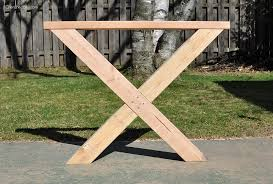 Free Wooden Outdoor Table Plans by Diy Outdoor Table Free Plans Cherished Bliss