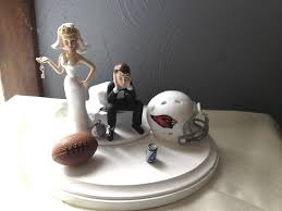 and chain cake topper arizona cardinals wedding groom cake topper chain