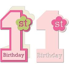 baby girl 1st birthday silhouette design store view design 17527 baby girl
