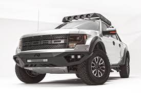 Ford Raptor Bumpers - vengeance front bumper fab fours