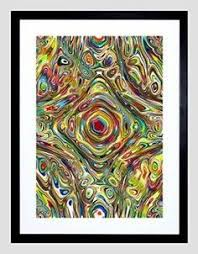 Psychedelic Room Decor I Love Psychedelic Wall Art Especially When It Is Vibrant Bold