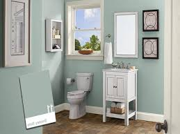 apartment blue freshest small bathroom paint color ideas