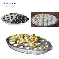 deviled egg serving plate new iced acrylic and stainless deviled egg serving tray