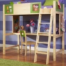 twin study loft bed foter