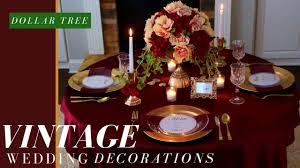 dollar tree wedding decorations diy vintage wedding centerpiece