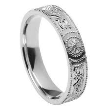 silver wedding bands celtic warrior silver wedding band celtic wedding rings