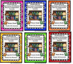 libros para leer de cuarto grado cuadernillos de lecturas y actividades de comprensión lectora para