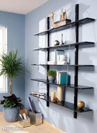 Hanging Wall Shelves Woodworking Plan by 698 Best Shelves And Other Storage Images On Pinterest