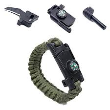 rope bracelet kit images Camping paracord survival bracelet kit 500 lb outdoor hiking jpg