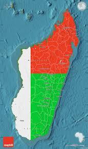 Outside Flag Flag Map Of Madagascar Satellite Outside
