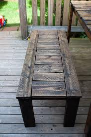 Outdoor Wood Bench Diy by Best 25 Rustic Wood Bench Ideas On Pinterest Long Bench Diy