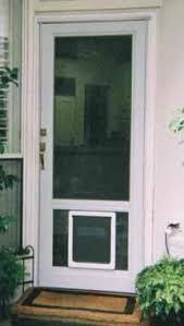 Exterior Pet Door Want To Get Doors With A Side Panel For The Door So