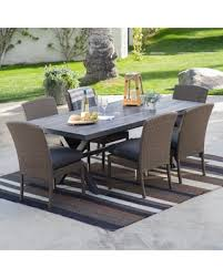Rattan Patio Dining Set Savings On Outdoor Belham Living Ashera All Weather Wicker Patio