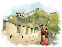 great wall of china walking the wall the express tribune
