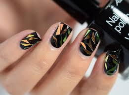 shattered glass nail art hottest fashion trend of the season
