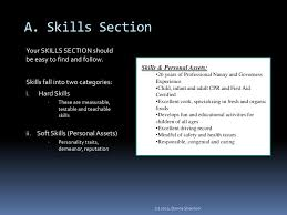 Skills For Nanny Resume Secrets To Writing An Outstanding Nanny Resume