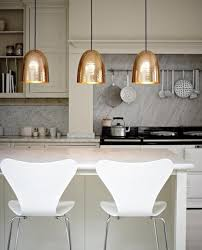 Lights In The Kitchen by Decordemon Copper Pendant Lights In The Kitchen