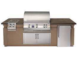outdoor kitchen island magic outdoor kitchen island package s gas