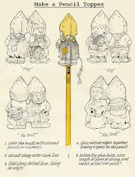 make a troll pencil topper