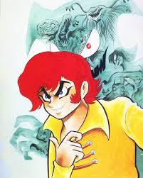 devilman devilman illustration by go nagai devilman pinterest