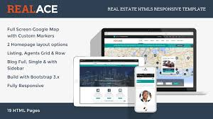 realace real estate html5 responsive template themes u0026 templates