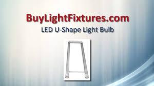 led u shape light bulb youtube