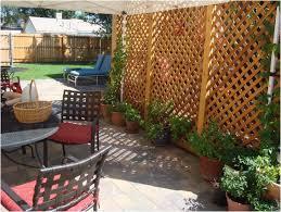 Backyard Screen House by Backyards Gorgeous Lattice Privacy Screen On Deck 146 Backyard