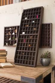 rustic wood coat rack with vintage wire hooks