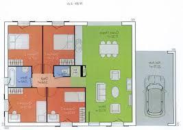 plan de maison plain pied 2 chambres beau plan maison plain pied 2 chambres avec garage concernant plans