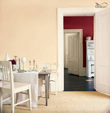dining room ruby starlet natural calico dulux emulsion colours for