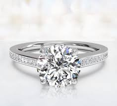 engagement rings round images Round cut engagement rings ritani jpg