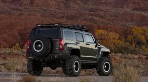 jeep hummer conversion hummer goes off road at sema