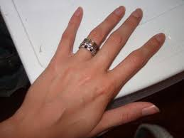 10mm ring is there a band width to finger size rule weddingbee