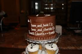 wedding wishes jokes untagged what code would you on your wedding cake stack