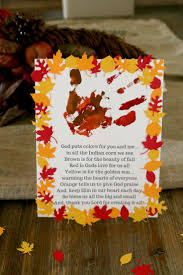 thanksgiving handprint craft for kids hand print crafts free