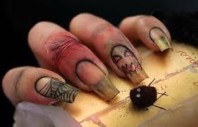 imagenes de uñas decoradas de jalowin uñas de halloween diseños decoraciones imágenes uñasdecoradas