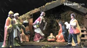 how to arrange a nativity scene youtube