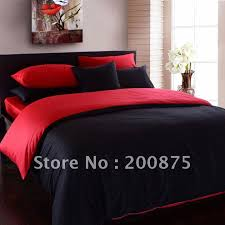 Red Duvet Set Black And Red Duvet Cover Hallmart Color Blocks E Comforter Set