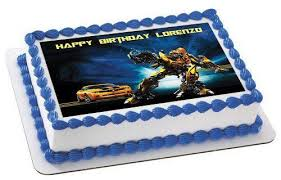 transformers cake toppers transformers 2 edible birthday cake or cupcake topper edible