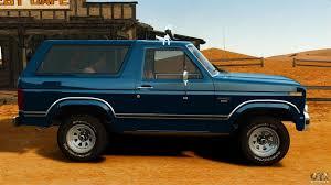 bronco car ford bronco 1980 for gta 4