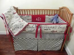 Denim Crib Bedding Baby Bedding Crib Set Dalton Vintage Airplanes Denim Chevron