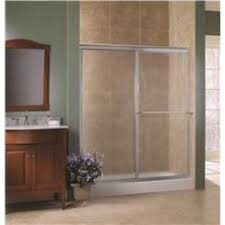 bathtub sliding glass door