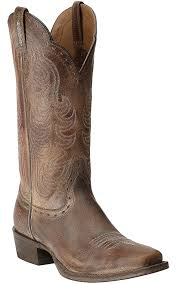 ariat womens cowboy boots size 12 ariat s times antique brown punchy square toe