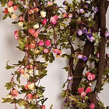 flower garlands decorations