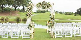 wedding arches orlando fl villas of grand cypress orlando weddings