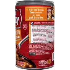 Campbell Kitchen Recipe Ideas by Campbell U0027s Fajita Chicken W Rice U0026 Beans Chunky Soup 18 6 Oz