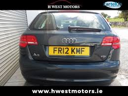 2012 audi a3 1 6 tdi used audi a3 a3 2012 1 6 tdi sport sportback 105ps for sale in galway
