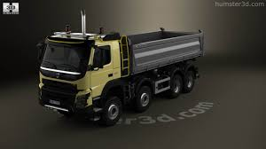 2013 volvo truck 360 view of volvo fmx tipper truck 2013 3d model hum3d store