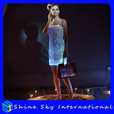 quality best selling led light dress led dress led suit buy led