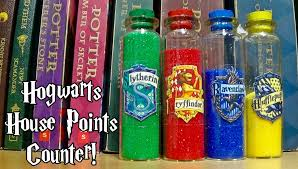 diy hogwarts house points counter harry potter youtube
